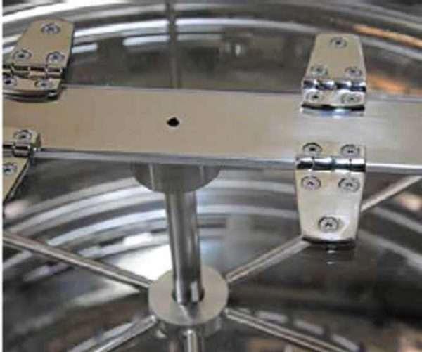 Smielatore radiale, 42 favi, Ø1000mm, elettrico automatico bidirezionale, 750W, mod. PREMIUM Lyson