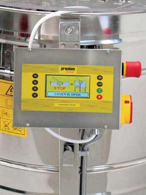 Smielatore radiale, 56 favi, Ø1200mm, elettrico automatico, 750W, mod. PREMIUM Lyson