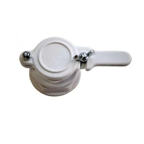 Valvola plastica 6/4 per maturatore con ghiera