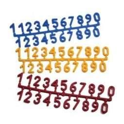 Numeri in plastica per arnie 1 set