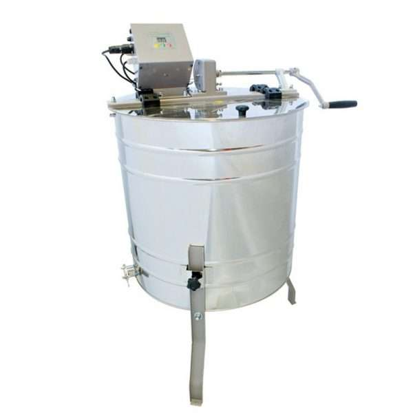 Smielatore tangenziale, 4 favi,  Ø600mm, manuale + elettrico, mod. OPTIMA Lyson