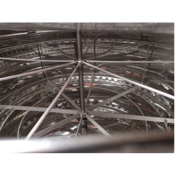 Smielatore radiale, 56 favi, Ø1200mm, elettrico bidirezionale utomatico, 750W, mod. CLASSIC Lyson