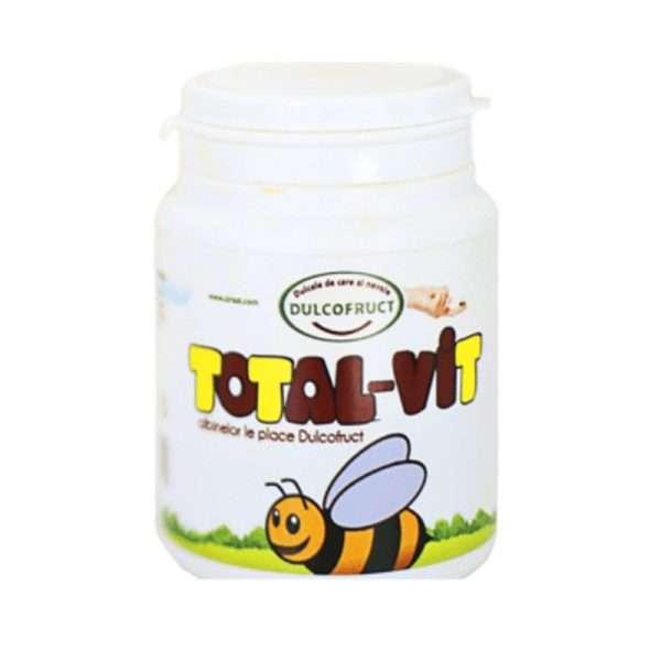 Total-Vit Dulcofruct vitamine e minerali api 100gr