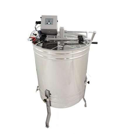 Smielatore radiale, 20 favi, Ø600mm, manuale+elettrico unidirezionale, 250W, mod. OPTIMA Lyson