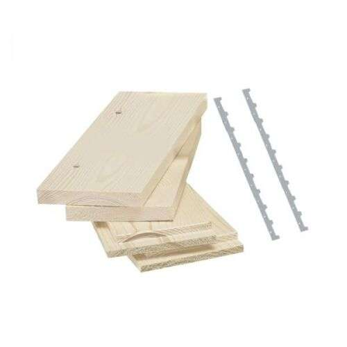 Melario in kit in legno lamellare 7 favi (35,5x50)