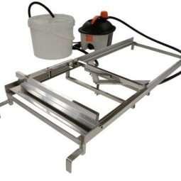 Disopercolatore manuale con lame riscaldate ad acqua Lyson per banco da 1000mm