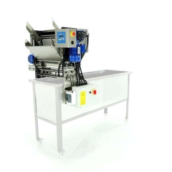 Disopercolatrice automatica a circuito chiuso a 230v con coltelli riscaldati senza banco Lyson