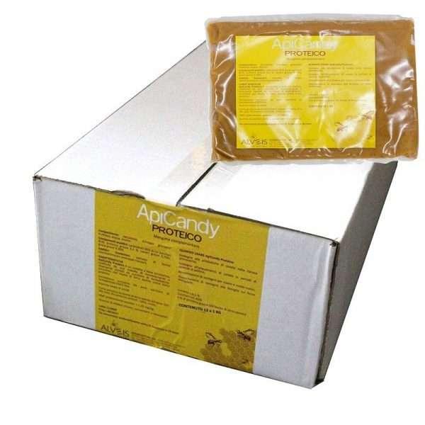Candito Apicandy proteico 1kg zucchero pregiato di barbabietola, conf 12kg