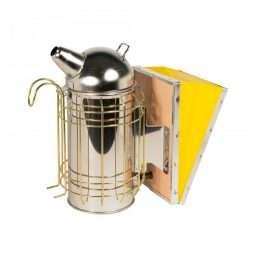 Affumicatore inox con protezione (10*25cm) mod. Fiorillo