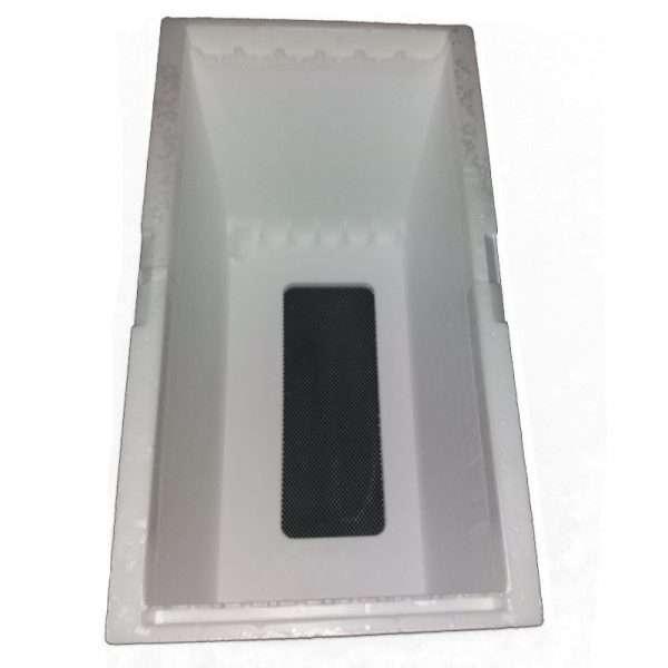Arnia 6 favi polistirolo compatto mod. Fiorillo con bordi e distanziatori in plastica