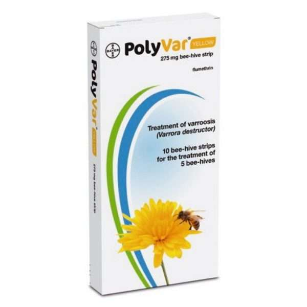 Polyvar yellow 275Mg conf 10 strisce