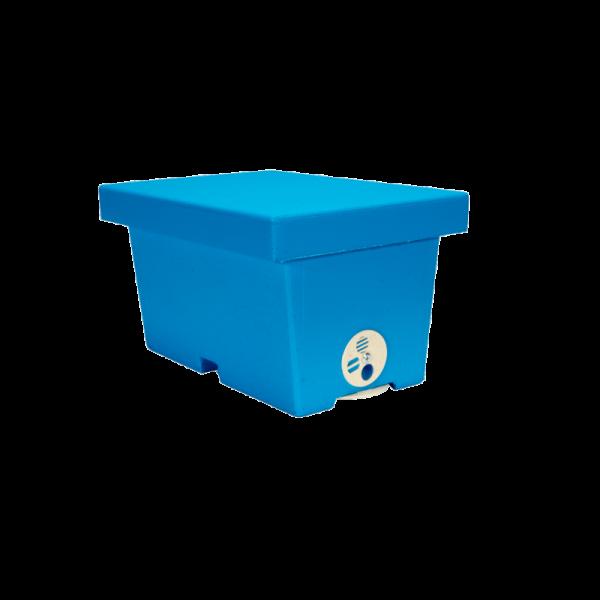 Arnietta 4 favi polistirolo per fecondazone regine mod. Mini Hive Lyson verniciata