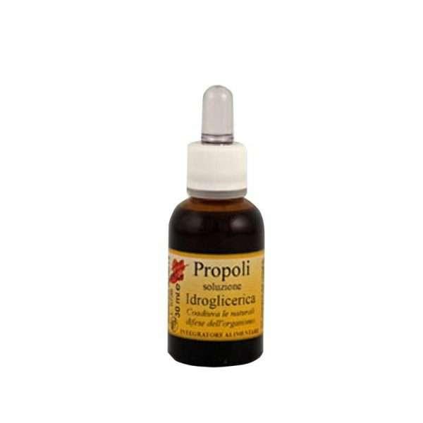 Propoli idroglicerica 30 ml senza alcool