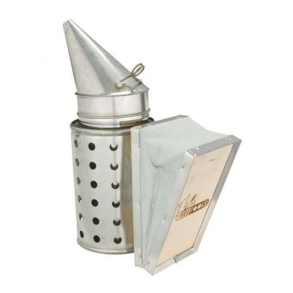 Affumicatore a imbuto zincato con protezione (10*31cm) mod. Lyson