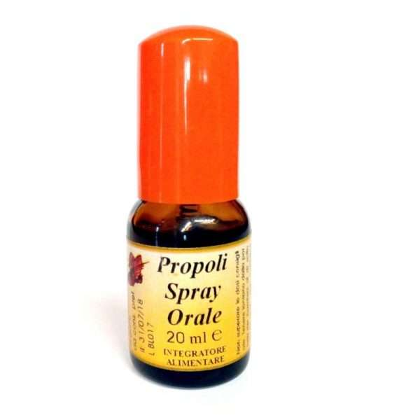 Propoli spray orale alcolico da 20 ml.