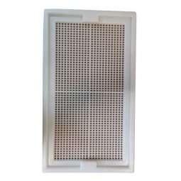 Mascherina in plastica arnia portichetto 10 favi per trasporto api