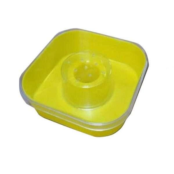Nutritore quadrato da 1 litro
