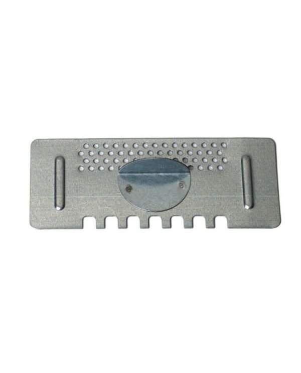Porticina dentata forata, aperta-chiusa, per arnia cubo da 6, 15cm