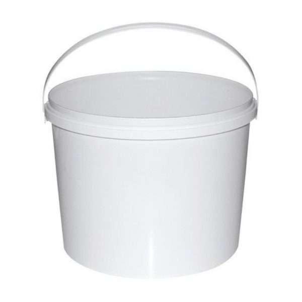 Secchio in plastica alimentare per miele da 8kg