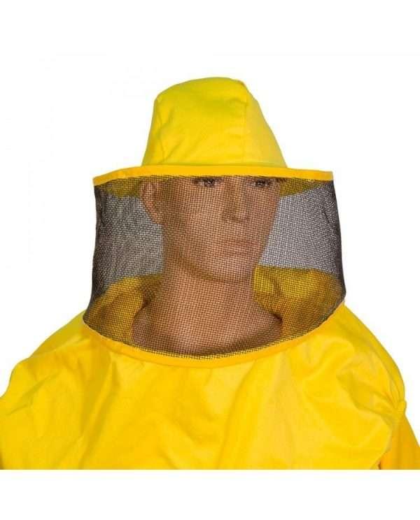 Maschera apicoltore rotonda a cappello ascellare
