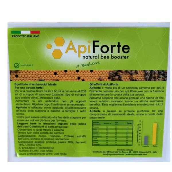 ApiForte, migliora la covata da 1L