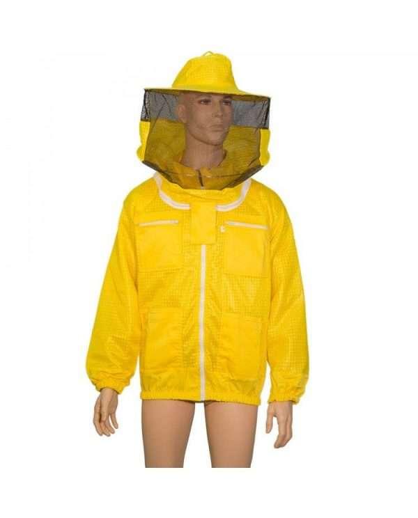 Camiciotto apicoltore traforato air tech, cappello rotondo