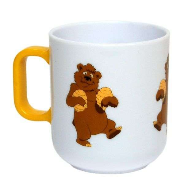 Tazza bambino con orsetto