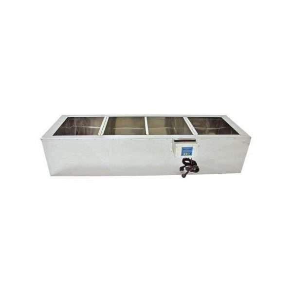 Vasca decantatrice 4 camere riscaldata 1000mm
