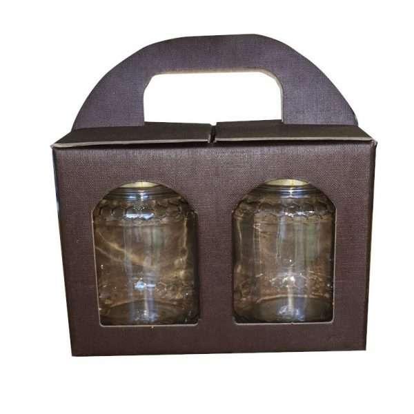 Scatola cartone per regalo 1 vaso miele da 250g