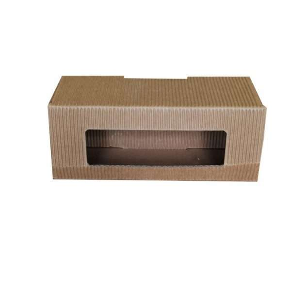 Scatola cartone per regalo 4 vasetti miele da 50g