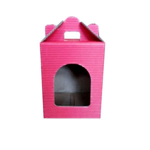 Scatola cartone per regalo 3 vasi miele da 500gr