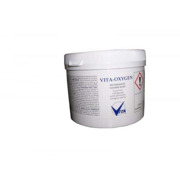 Vita Oxigen sanificazione materiale apistico conf da 400g.