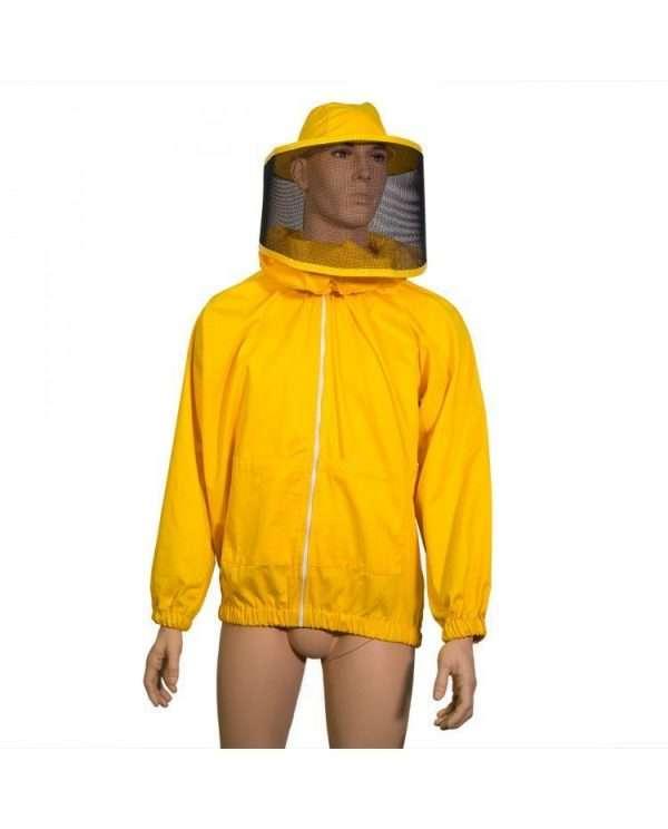 Camiciotto apicoltore con maschera rotonda a salsicciotto