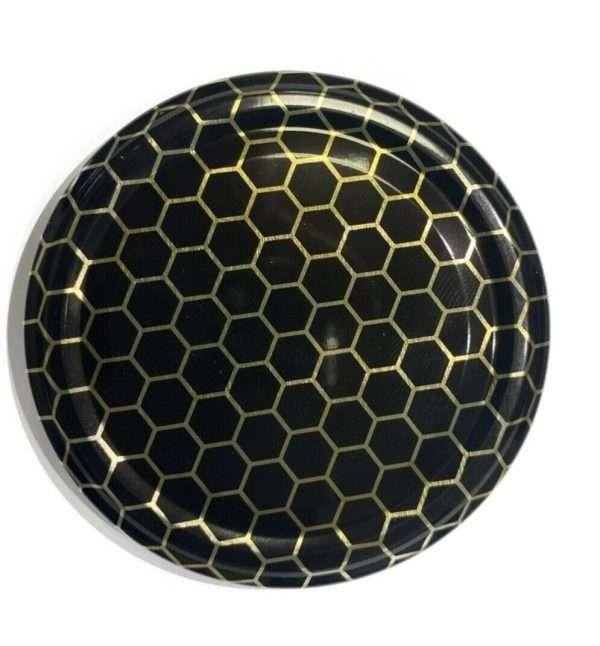 Capsula per barattolo miele Ø82 nera
