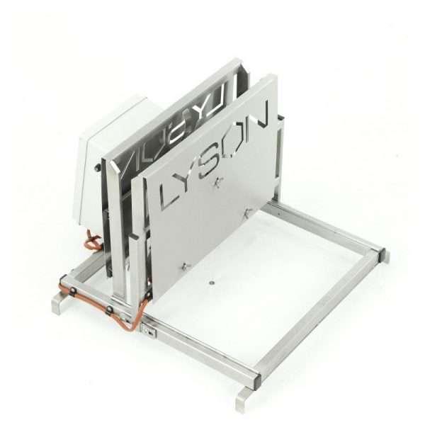 Disopercolatrice verticale inox, manuale, riscaldamento elettrico da 30° a 95°, 220V, larghezza 544mm