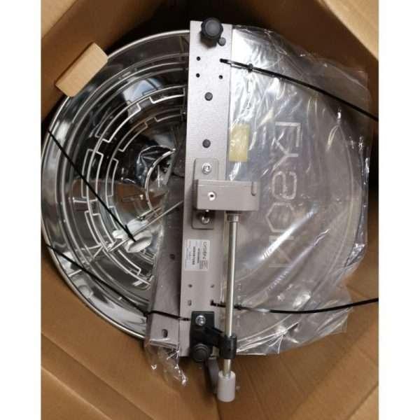 Smielatore radiale, 9 favi, Ø500mm, manuale,con frizione e freno Minima Lyson