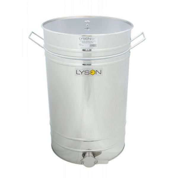 Maturatore 150L-210kg con valvola Inox e manici