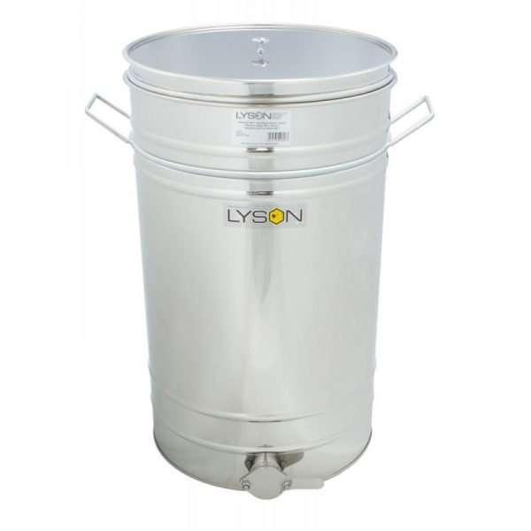 Maturatore 150L-210kg con valvola Inox, manici ei filtro