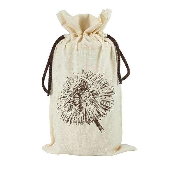 Sacchetto in cotone da regalo per vaso miele 1Kg TE5k - 2 colori