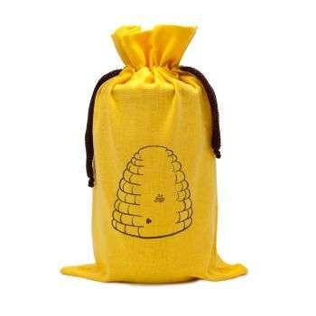 Sacchetto in cotone da regalo per vaso miele 1Kg TE5l - 2 colori