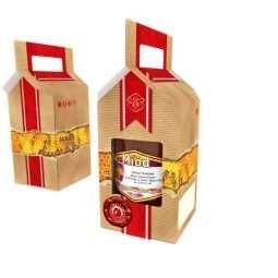 Scatola regalo miele per 1 vaso da 1000g, P1E