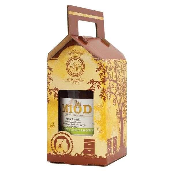 Scatola regalo miele per 1 vaso da 1000g, P1H