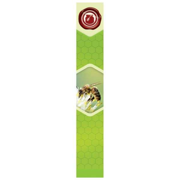 Sigillo di garanzia miele BA11 22x142mm 100pz