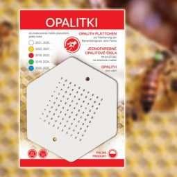 Sticker con numeri per marcare le api regine da 1 a 100, 5 colori