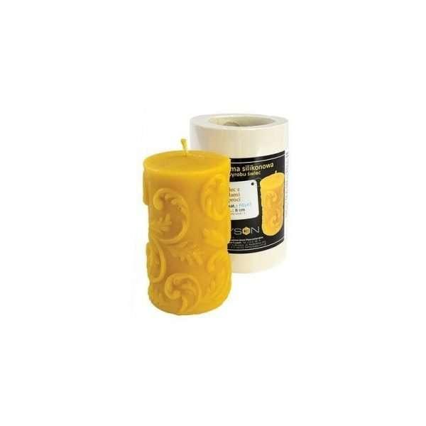 Stampo per candele in silicone - CERO CON FELCE