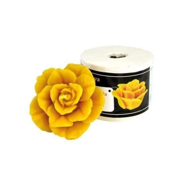 Stampo per candele in silicone - ROSA