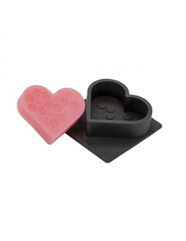 Stampo in silicone per 1 Sapone a forma di cuore