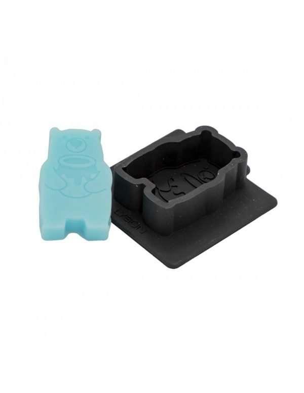Stampo in silicone per 1 Sapone a forma di orso ghiottone di miele