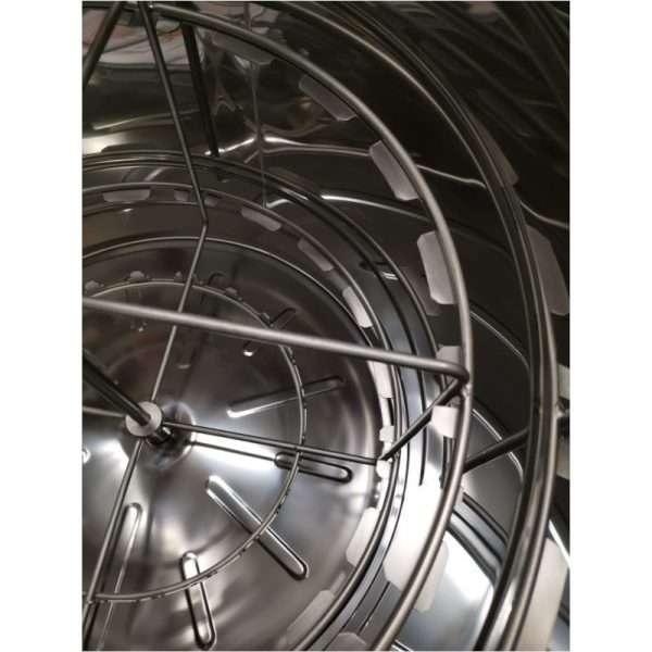 Smielatore radiale, 20 favi, Ø600mm, elettrico bidirezionale, 250W, mod. Classic Lyson