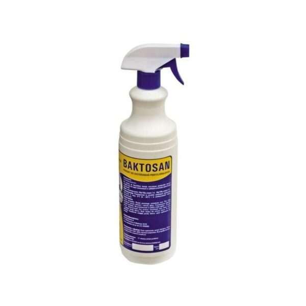 Detergente BAKTOSAN preparato per disinfettare rapidamente le superfici 1 LT